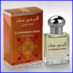 Musk by Al Haramain 15 ml Concentrated Perfume Oil free from alcohol