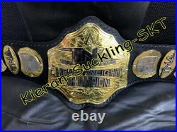 NEW TNA WORLD DUAL HEAVYWEIGHT WRESTLING CHAMPIONSHIP BELT DUAL 7 PLATES 3mm