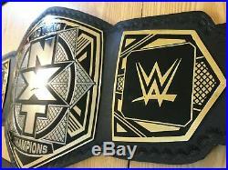 NEW WWE Nxt Tag Team Championship Belt Adult Size Leather Belt (2mm plates)