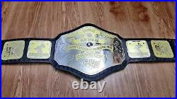 NWA HEAVYWEIGHT Wrestling Championship Belt Adult Size 2mm Plate