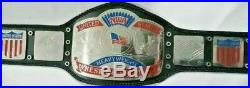 NWA UNITED STATES HEAVYWEIGHT WRESTLING CHAMPIONSHIP 2mm plate BELT