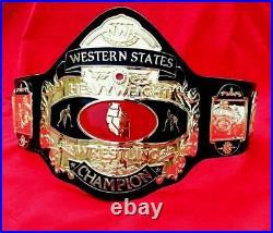 NWA Western States Heavyweight Wrestling championship belt adult size replica