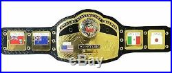 NWA World Heavyweight Championship Wrestling Replica Belt Adult Size 2mm plates