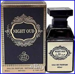 Night Oud By Lattafa EDP perfume spray World Famous for Unisex 80 ML(USA SELLER)