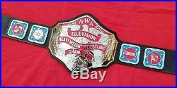 Nwa Television Heavyweight Wrestling Championship Belt. Adult Size 4mm Zinc Plate