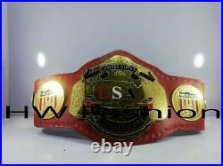 Nwa USA Tag Team Championship Wrestling Belt Adult Size