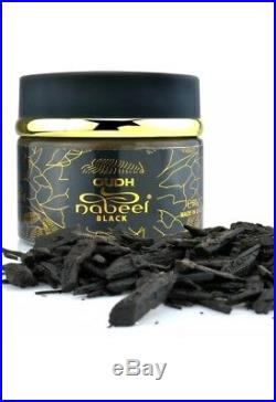 OUDH Nabeel Black 60 Grams Bakhoor Incense chips Agarwood Maker Of Touch Me