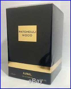 PATCHOULI WOOD by Ajmal 100 ML, 3.4 fl. Oz Unisex EDP New sealed box