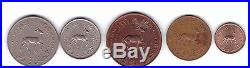 Qatar Dubai Complete Set of 1,5,10,25,50 Dirham Coins Full set (5Pcs.)