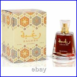 Raghba Eau De Parfum By Lattafa Spray 100 ml 3.4 oz Unisex Original Free Shippin