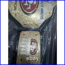 SF 49ers Championship Wrestling Brass 2mm Belt