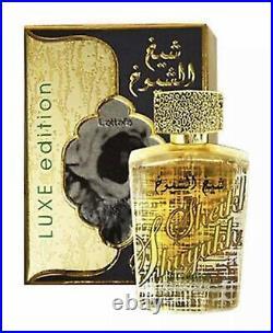 Sheikh Al Shuyukh Luxe Edition 100 ML By Lattafa PerfumesTop Tier Awarded