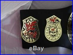 Smoking Skull Heavyweight Wrestling Championship Belt Adult Size 2mm