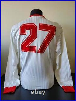 UAE United Arab Emirates 1986 Match Worn Football / Soccer Jersey Shirt 80s