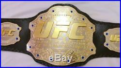 UFC Ultimate Fighting Championship Wrestling Belt Adult Size