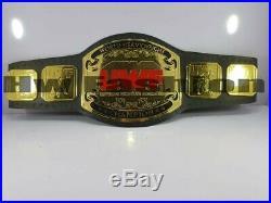 UWF World Heavyweight Wrestling Championship Belt Adult Size Leather Strap