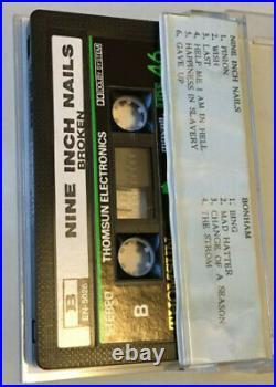Ultra rare NINE INCH NAILS BROKEN U. A. E. Cassette tape Reznor NIN Thomsun