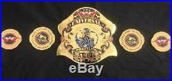Universal Wrestling championship Belt
