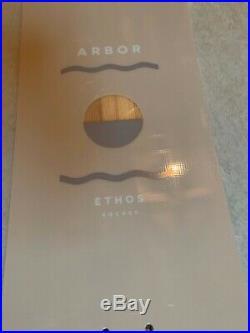 Used Arbor Ethos Rocker Twin Tip Snowboard 144 cm