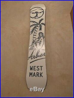 Used Arbor Westmark Rocker Twin Tip Snowboard 155 cm