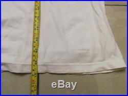 Vtg Tommy Hilfiger Big Logo Flag L Large Shirt Blue White Spell Out Block Red