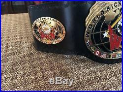 WKN World Kick Boxing Network Championship Belt Full Size