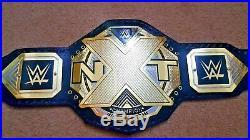 WWE NXT Wrestling Championship Belt Adult Size (2mm plates)