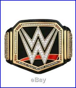 WWE Universal Championship Replica Title Belt Adult Size Black (Dual plate 2mm)