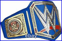 WWE Universal Championship Replica Title Belt blue Leather strap