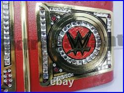 WWE Universal Championship Wrestling Title Replica Red Leather Belt Adult Size