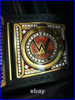 WWE Universal Handmade World Championship Belt / Chrome Leather Adult  Replica