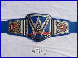 WWE Universal World Championship Belt / Chrome Leather / Adult Size (Replica)