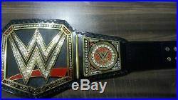 WWE WORLD HEAVYWEIGHT WRESTLING BELT CHAMPIONSHIP TITLE BELT 2mm plate