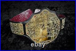 WWE World Heavyweight Big Gold Championship Replica Belt Adult Size crocodile