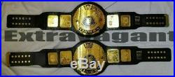 WWF BIG EAGLE CHAMPIONSHIP WRESTLING BELT ADULT SIZE 2mm Plates