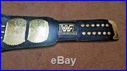 WWF Classic Gold Winged Eagle Championship Belt Adult Size (2MM PLATES)