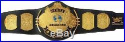 WWF Classic Gold Winged Eagle Heavyweight Wrestling Championship Belt AdultSize