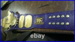 WWF Classic Gold Winged Eagle World Championship Wrestling Belt Adult Size
