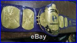 WWF Classic Gold Winged Eagle Wrestling Championship Title Belt 2mm Plates