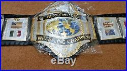 WWF HULK HOGAN 86 World Heavyweight Wrestling Championship Belt(2mm plates)