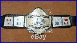 WWF HULK HOGAN 86 World Heavyweight Wrestling Championship Belt(4mm plates)