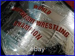 WWF HULK HOGAN World Heavyweight Wrestling Championship Belt 2mm Zinc Plate