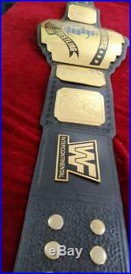 WWF INTERCONTINENTAL WRESTLING CHAMPIONSHIP BELT 2mm plate