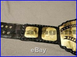 WWF Intercontinental World Heavyweight Wrestling Championship Belt Adult Replica