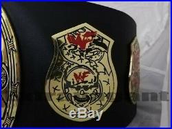 WWF Stone Gold Smoking Skull World Heavyweight Championship Wrestling Belt (2MM)