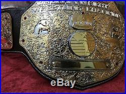 WWF WCW CHAMPIONSHIP WRESTLING BIG Gold BELT