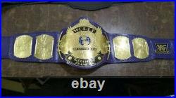 WWF WWE Classic Gold Winged Eagle Championship Belt. Adult size (2MM)