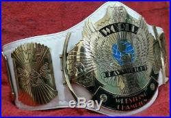 WWF Winged Eagle Classic Gold Championship Belt 4mm Plates