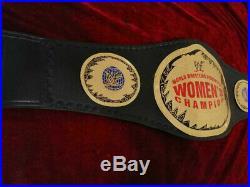 WWF Women's Championship Wrestling Belt 2mm plates