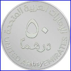 World Expo 2020 Dubai 40g Silver Medallion 50 Dirhams